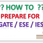 🎯 How to prepare for GATE and ESE / IES ? Tips