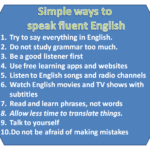 Simple ways to speak fluent English | Without hesitation | step by step