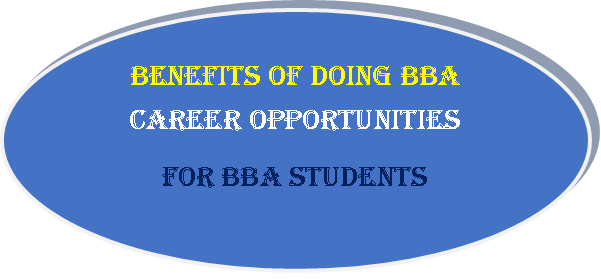 Career opportunities for BBA students